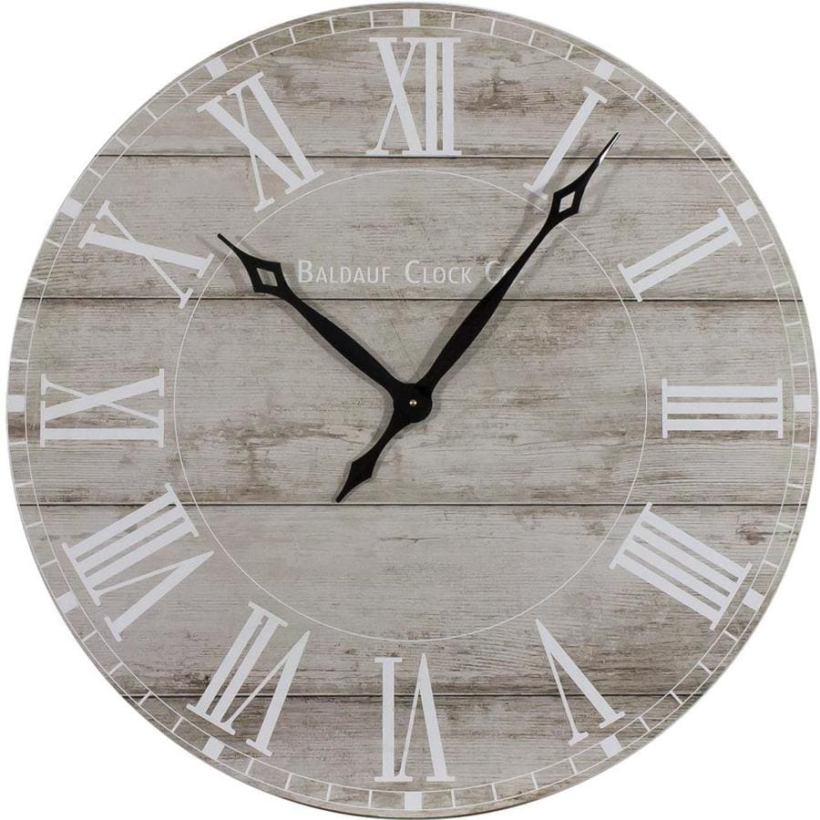 Analog Round Indoor Wall Clock