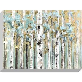 shop wall art at lowescom With kitchen cabinets lowes with birch trees wall art