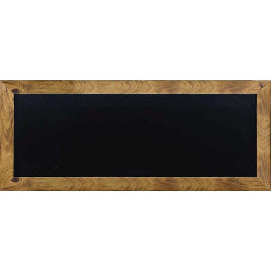37 in w x 14 in h framed chalkboard chalkboard print wall art