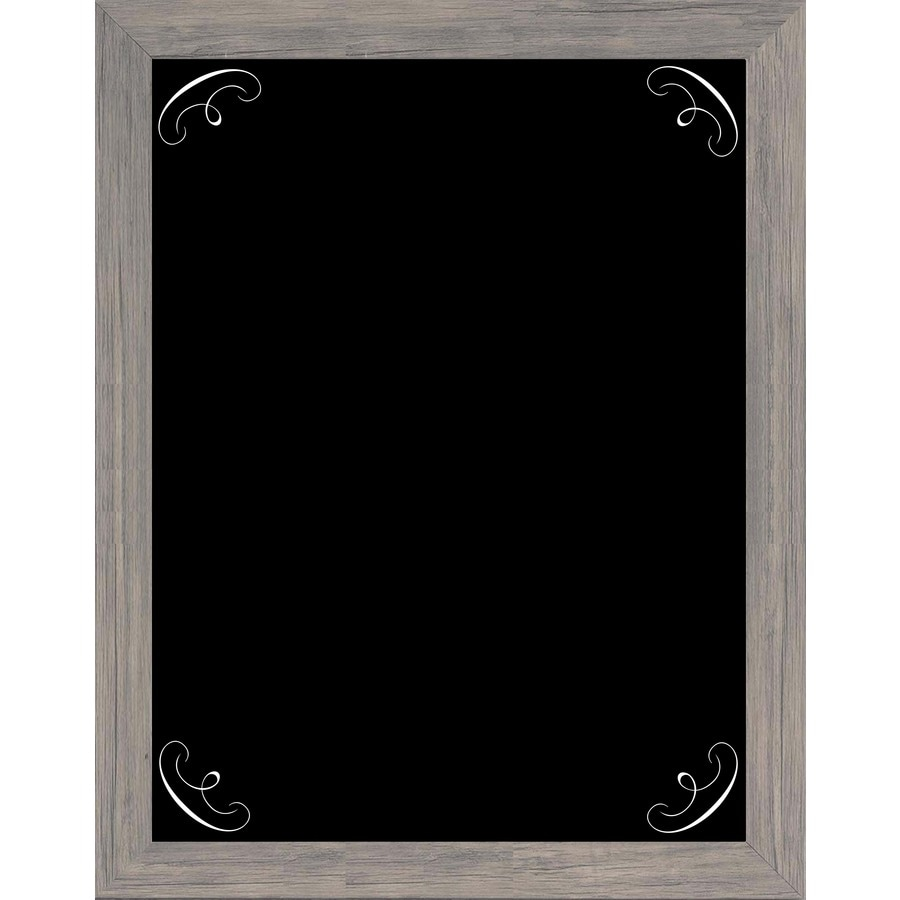 15-in W x 19-in H Framed Chalkboard Abstract Print Wall Art