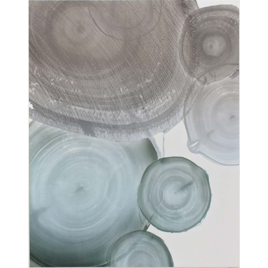 Soft Harmony 1-Piece 22-in W x 28-in H Frameless MDF Abstract Print Wall Art