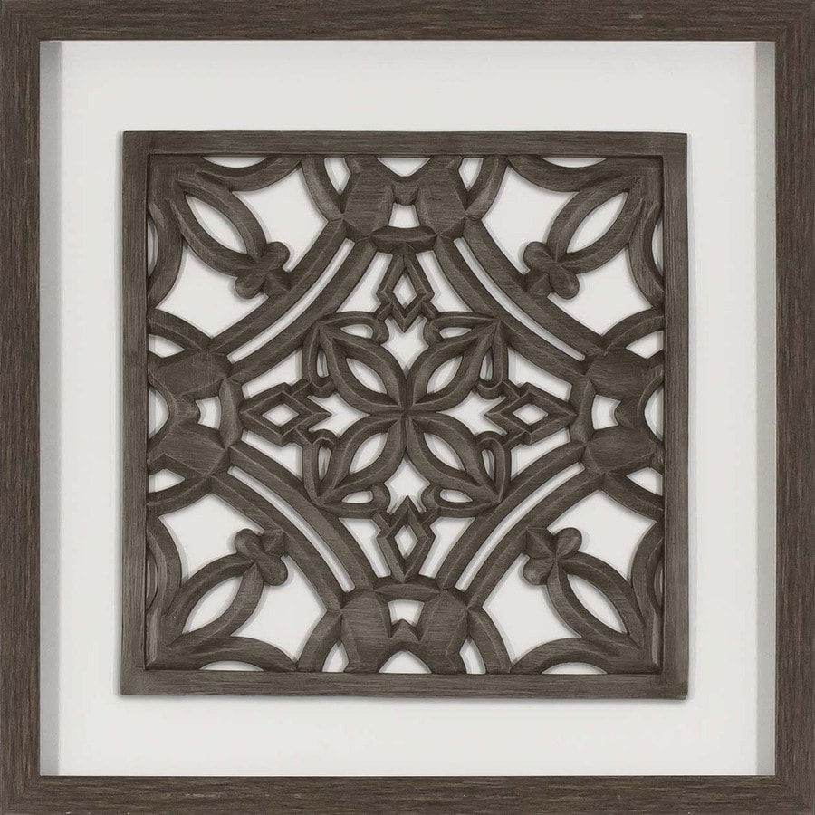 Wall Art Silver Frames : In w h framed resin abstract print