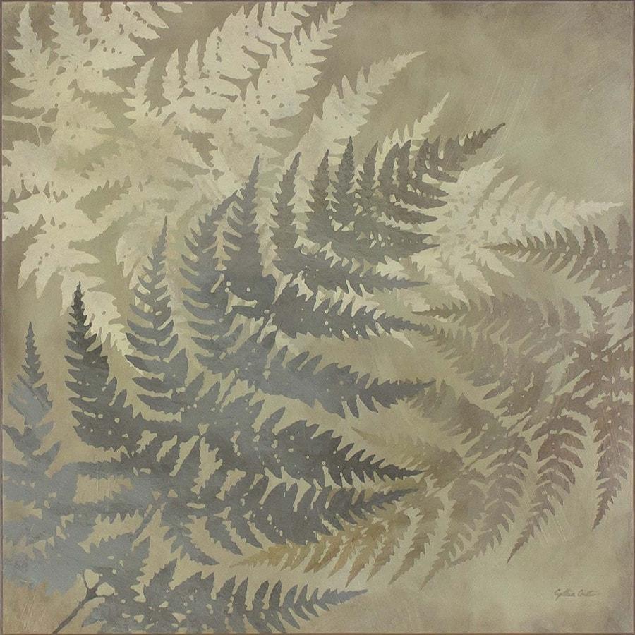 Swept Away 1-Piece 20-in W x 20-in H Frameless MDF Garden Print Wall Art