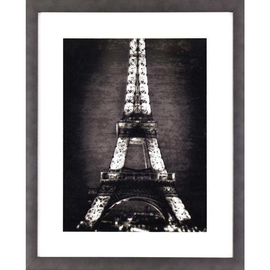 17.5-in W x 21.5-in H Framed Cityscape Print Wall Art