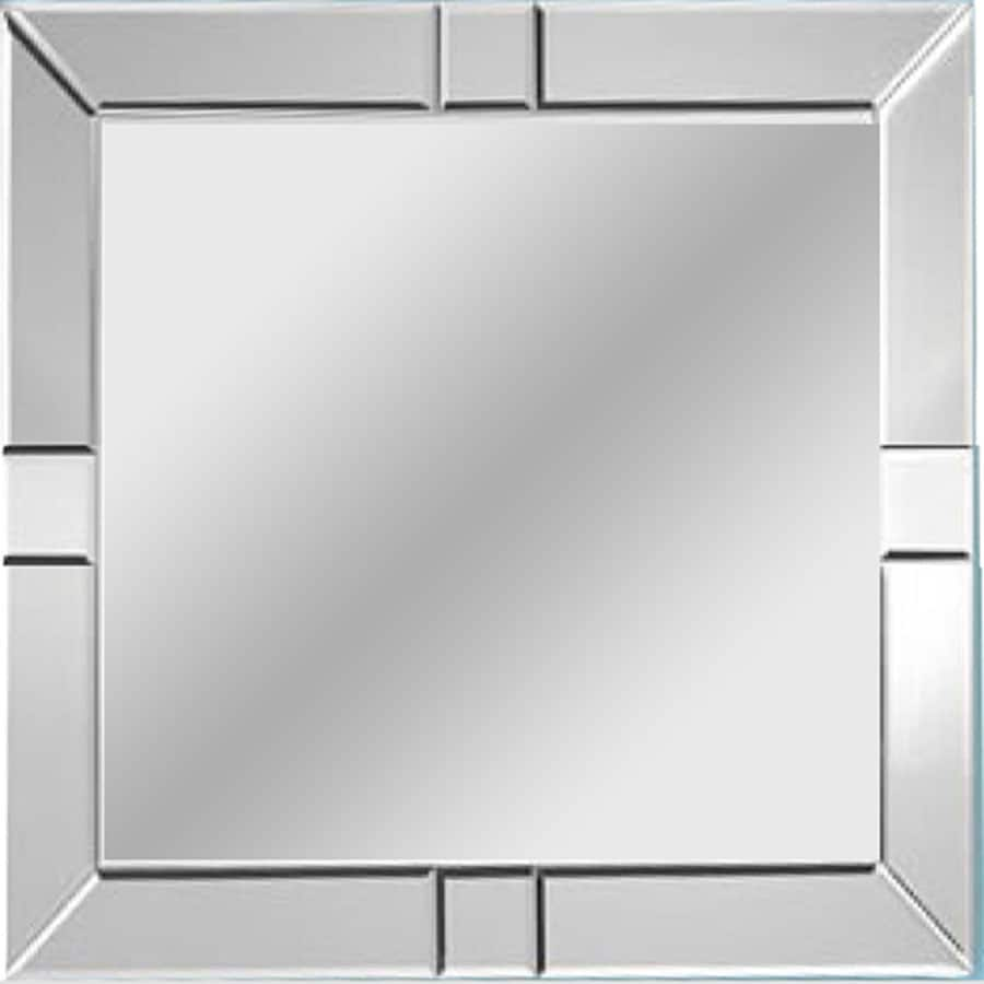 Mirror Polished Square Frameless Wall Mirror