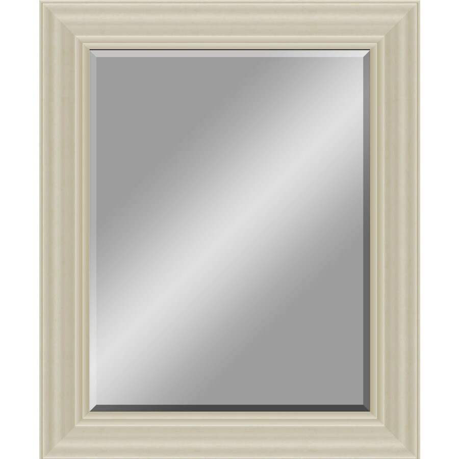 Champagne Beveled Wall Mirror