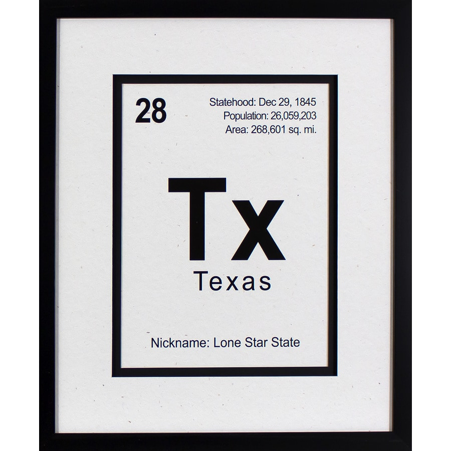 20-in W x 24-in H Framed Places Print Wall Art
