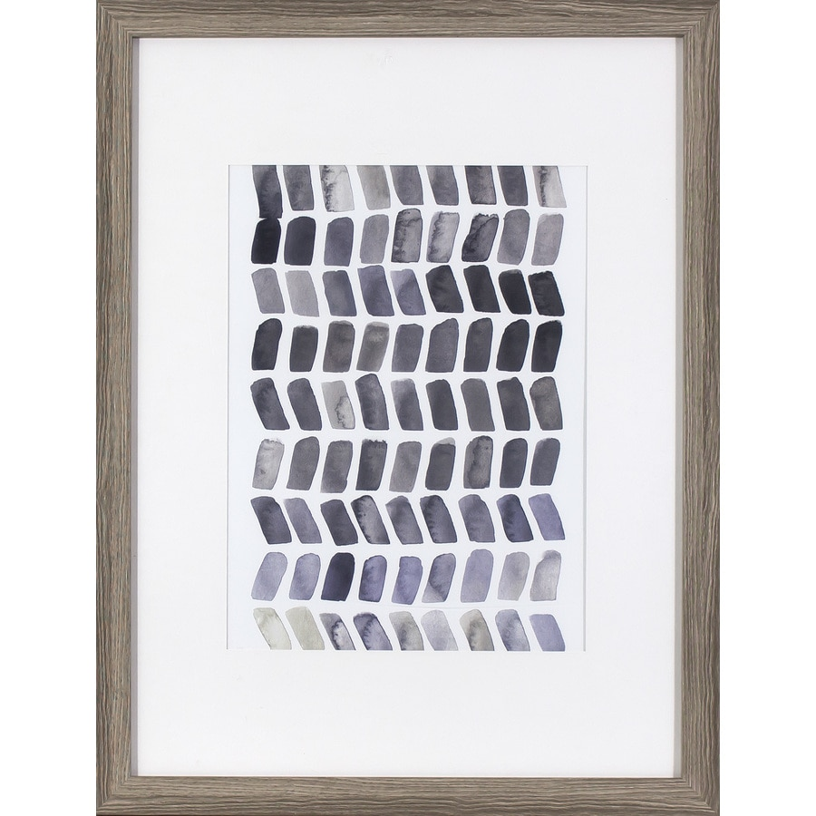 20-in W x 26-in H Framed Abstract Print Wall Art