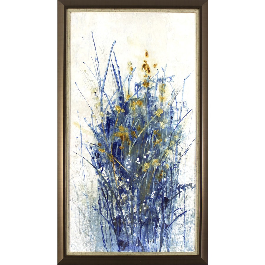 18.75-in W x 32.75-in H Framed Abstract Print Wall Art