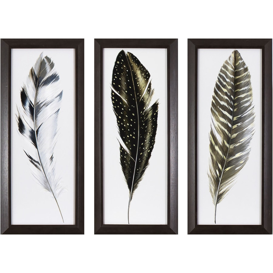 Shop 3 piece w x h framed animals print for 3 piece wall art