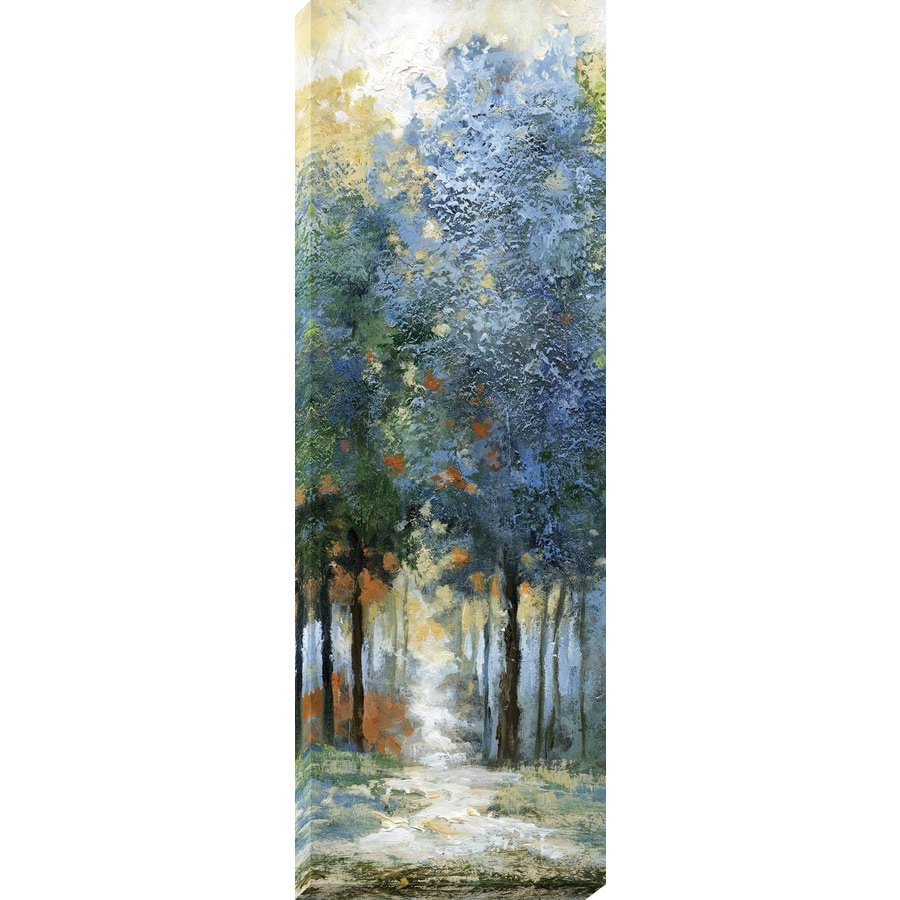 12-in W x 36-in H Frameless Canvas Landscapes Print Wall Art
