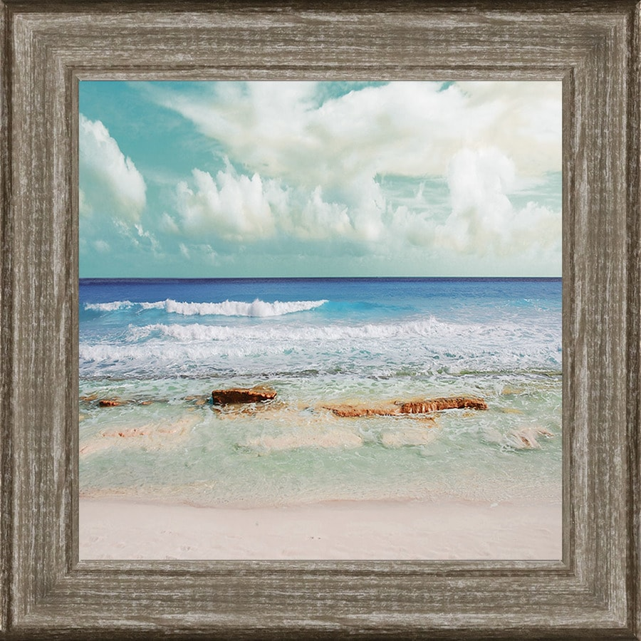 Framed Coastal Print At Lowes Com