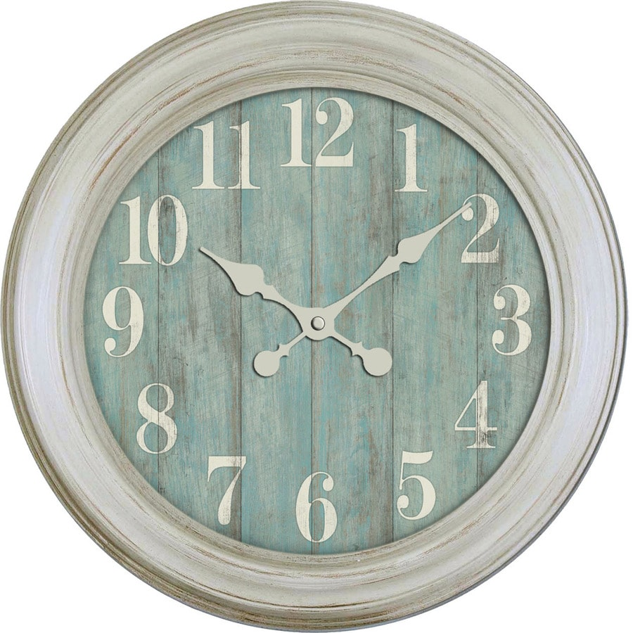 Shop clocks at lowes analog round indoor wall standard clock gumiabroncs Image collections
