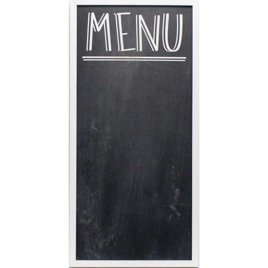Shop 30-in W x 14-in H Framed Kitchen Chalkboard Print at Lowes.com
