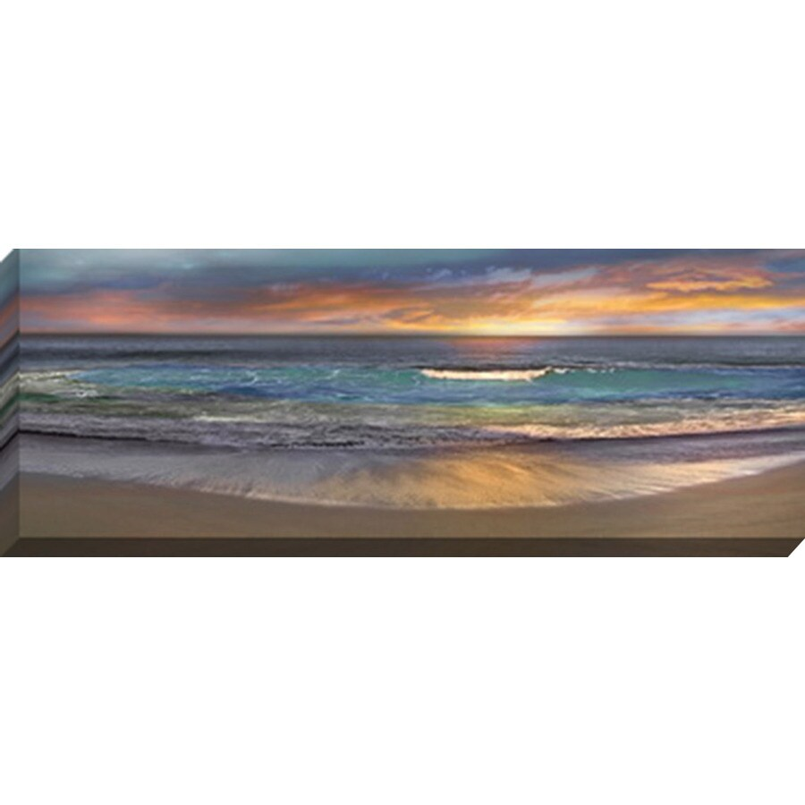38-in W x 14-in H Canvas Landscapes Wall Art