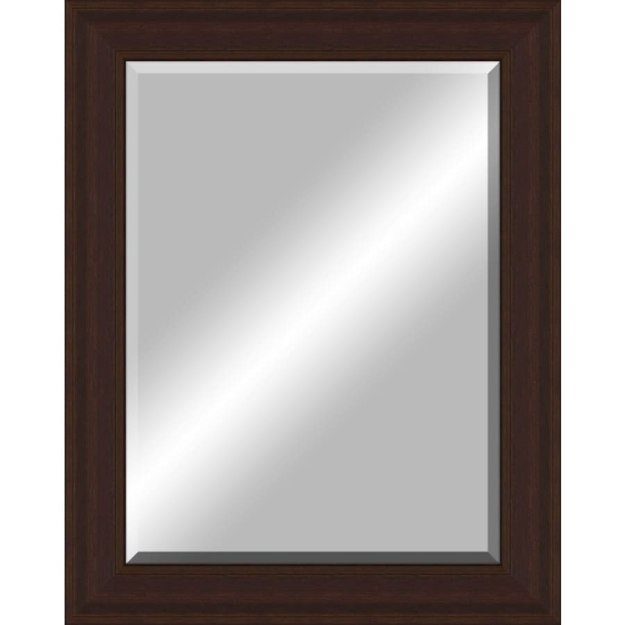 Shop Oil Rubbed Bronze Rectangle Framed Wall Mirror At
