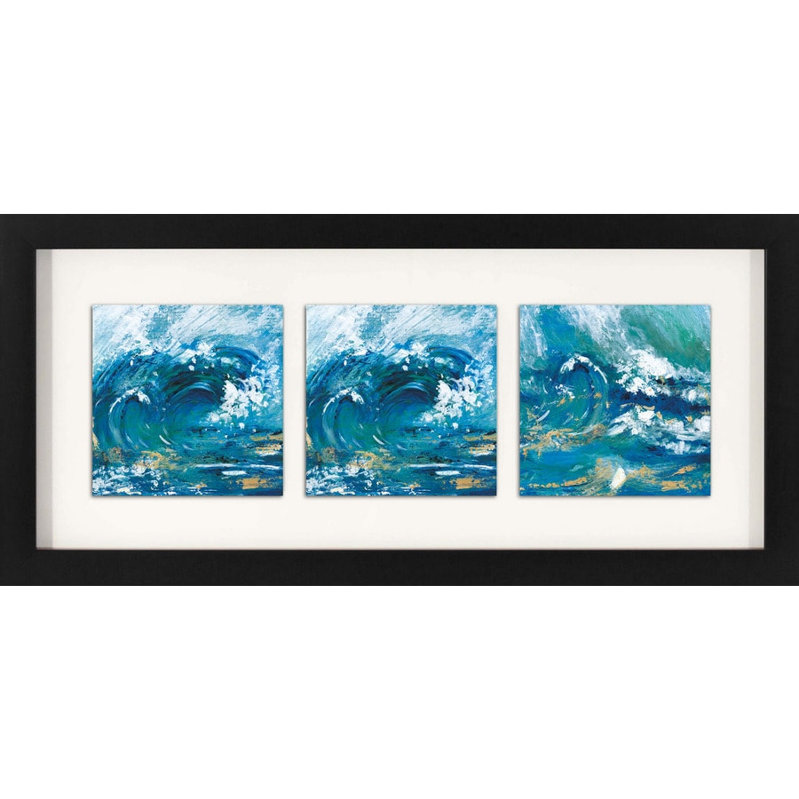 26-in W x 12-in H Framed Landscapes Wall Art