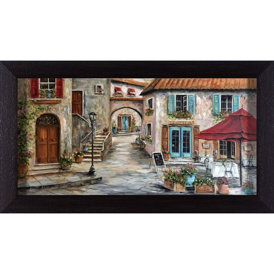 28.5-in W x 16.5-in H Framed Places Wall Art