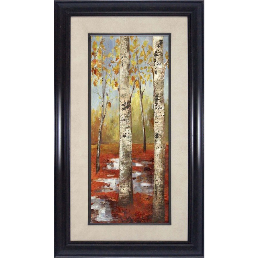 16.5-in W x 28.5-in H Framed Landscapes Wall Art