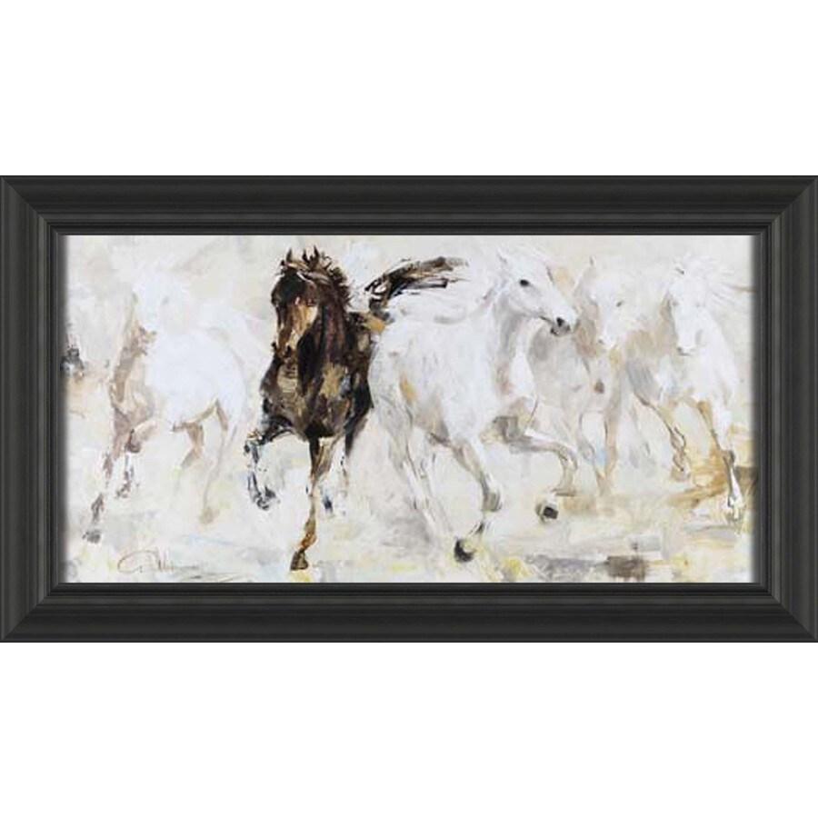 28.5-in W x 16.5-in H Framed Animals Wall Art