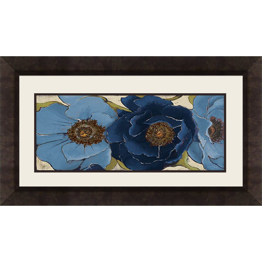 28.5-in W x 16.5-in H Framed Floral Wall Art