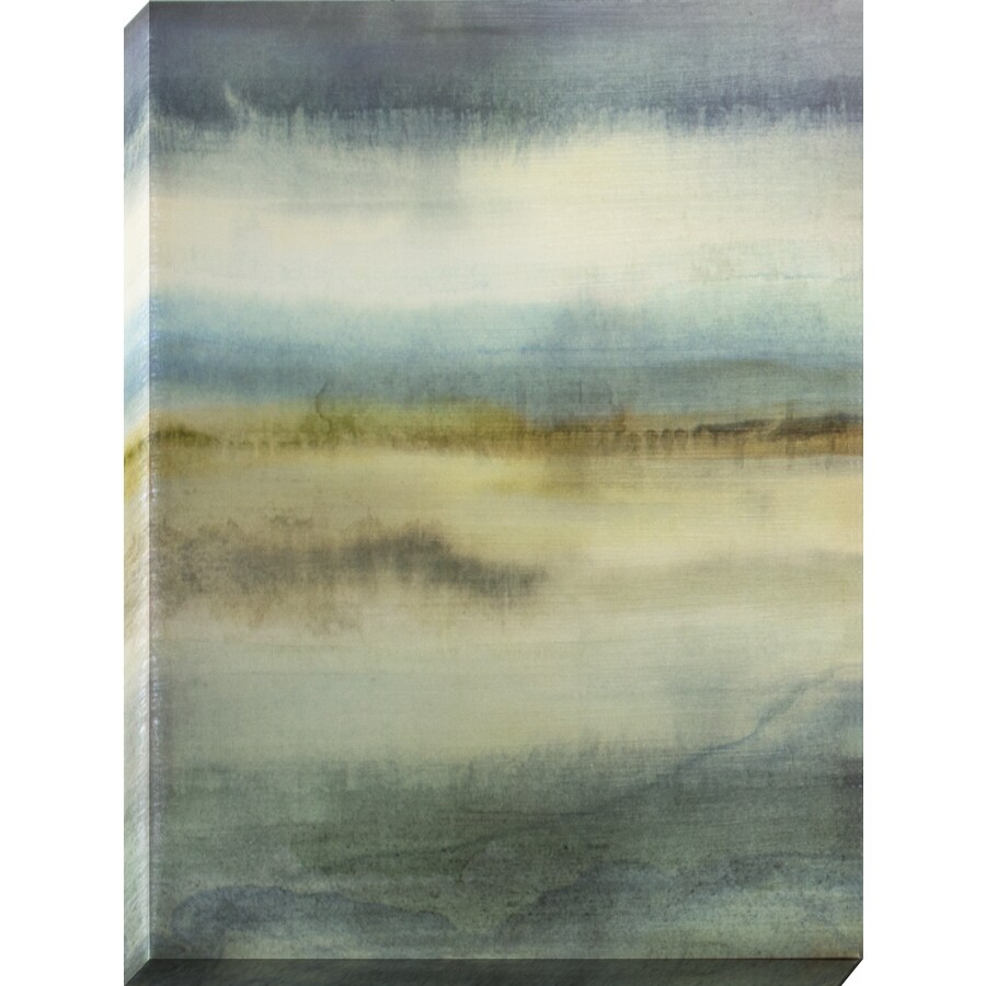 allen + roth 18-in W x 24-in H Frameless Canvas Abstract Prints Wall Art