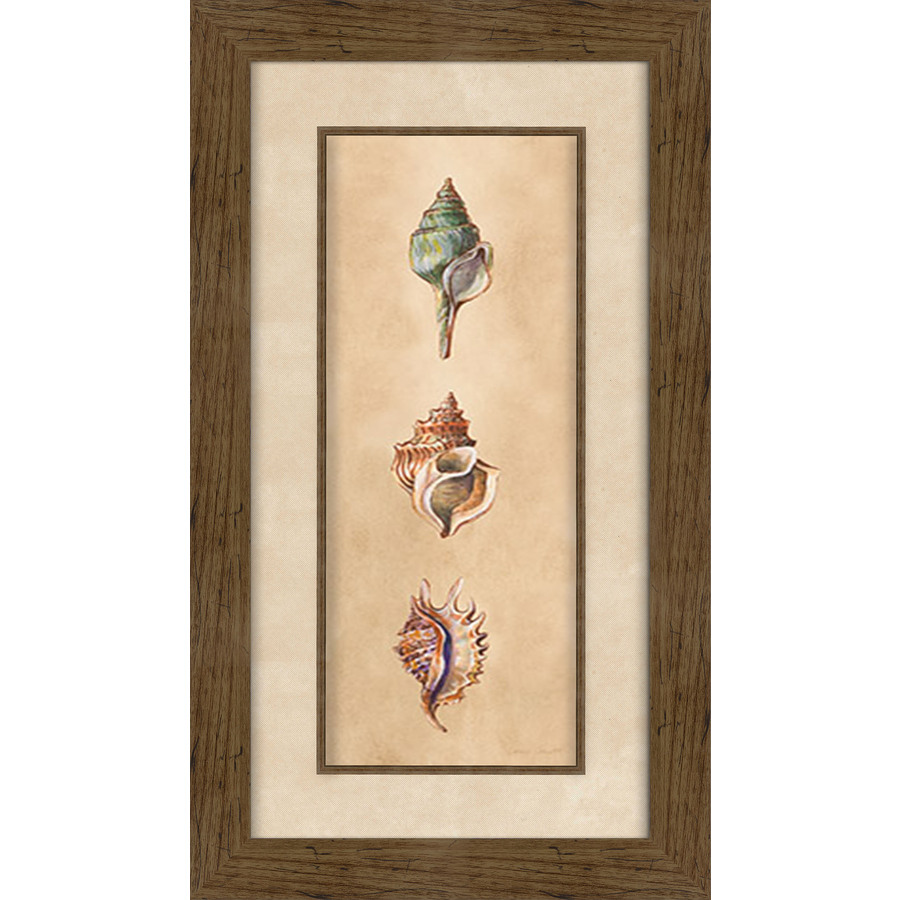 16.5-in W x 28.5-in H Framed Plastic Abstract Prints Wall Art