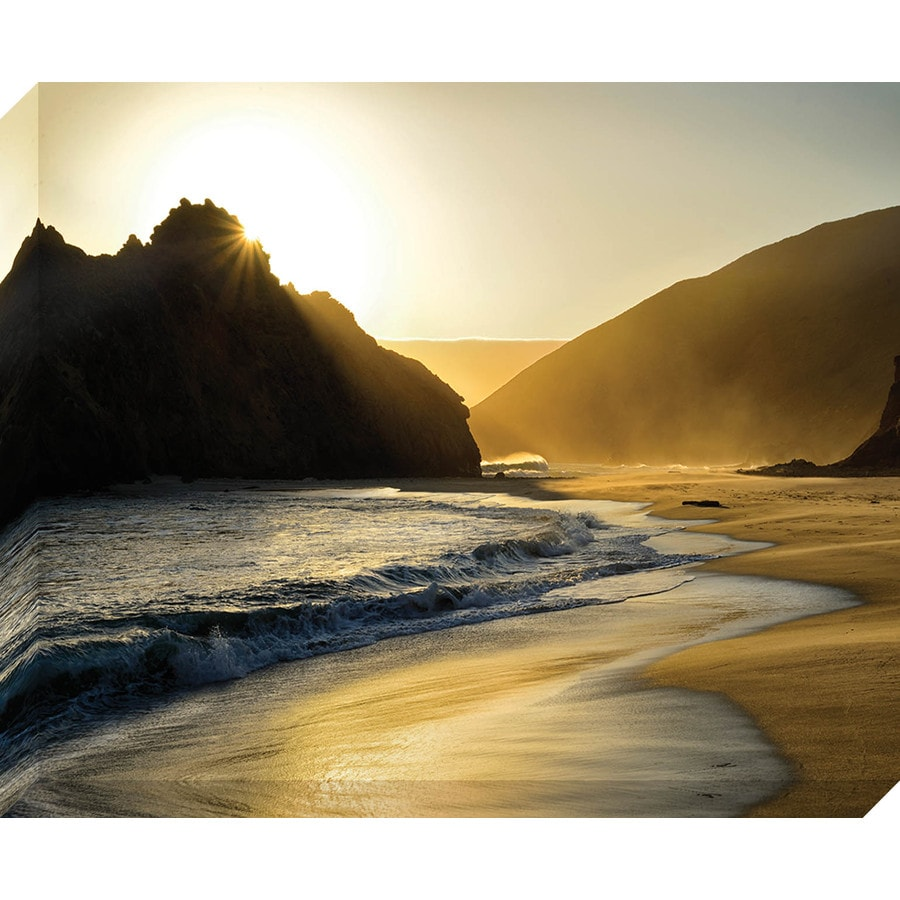 37-in W x 30-in H Frameless Canvas Landscapes Prints Wall Art
