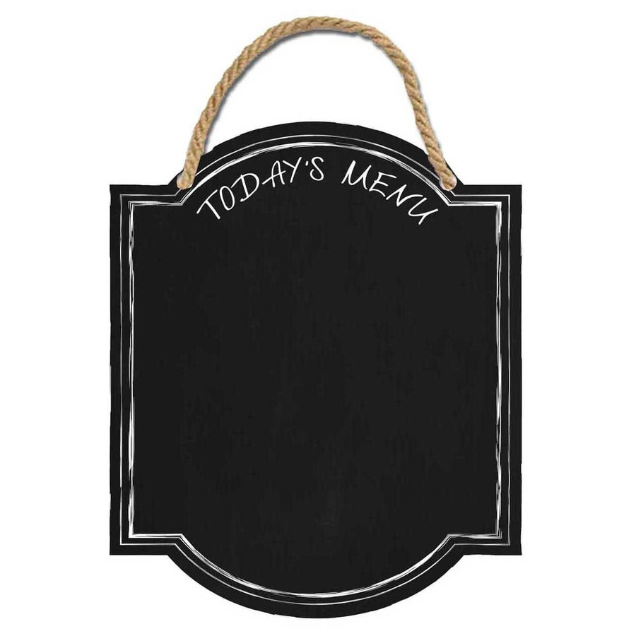 13-in W x 15-in H Frameless Chalkboard Kitchen Print Wall Art