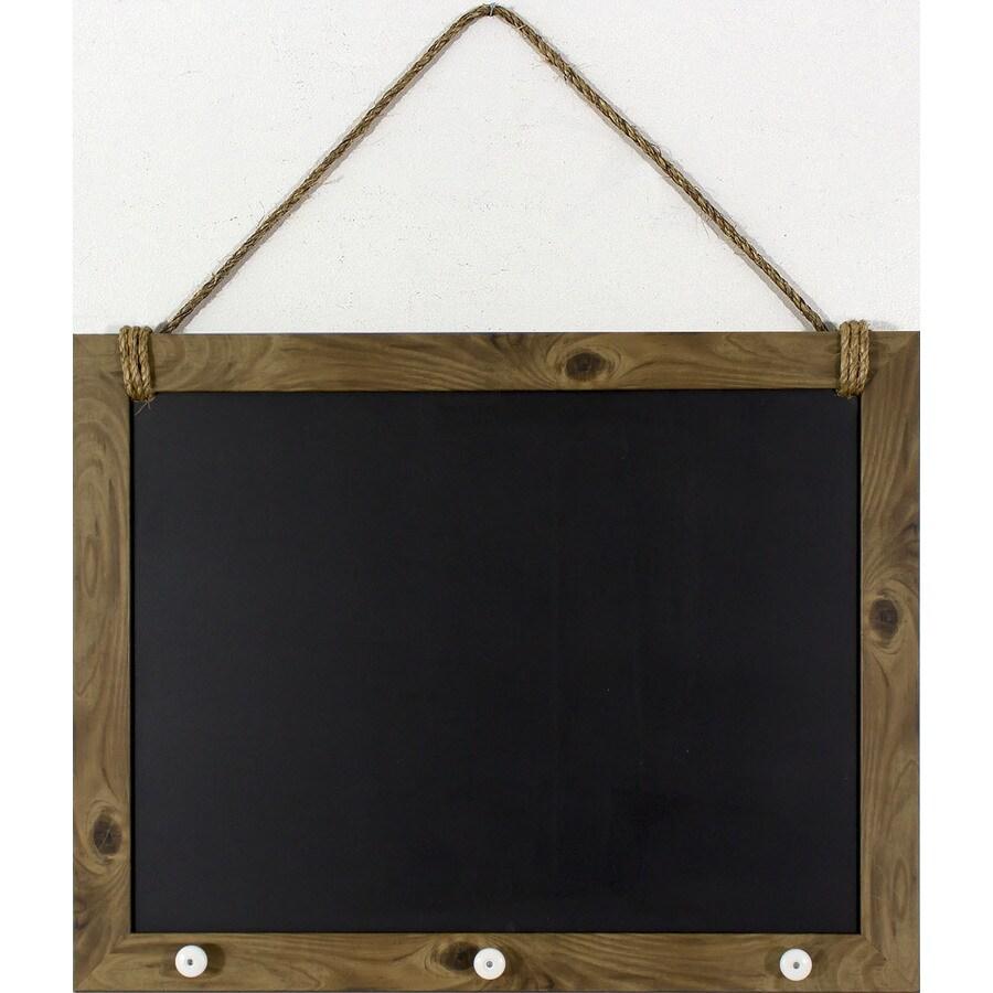 22.5-in W x 18.5-in H Framed Chalkboard Sign Wall Art
