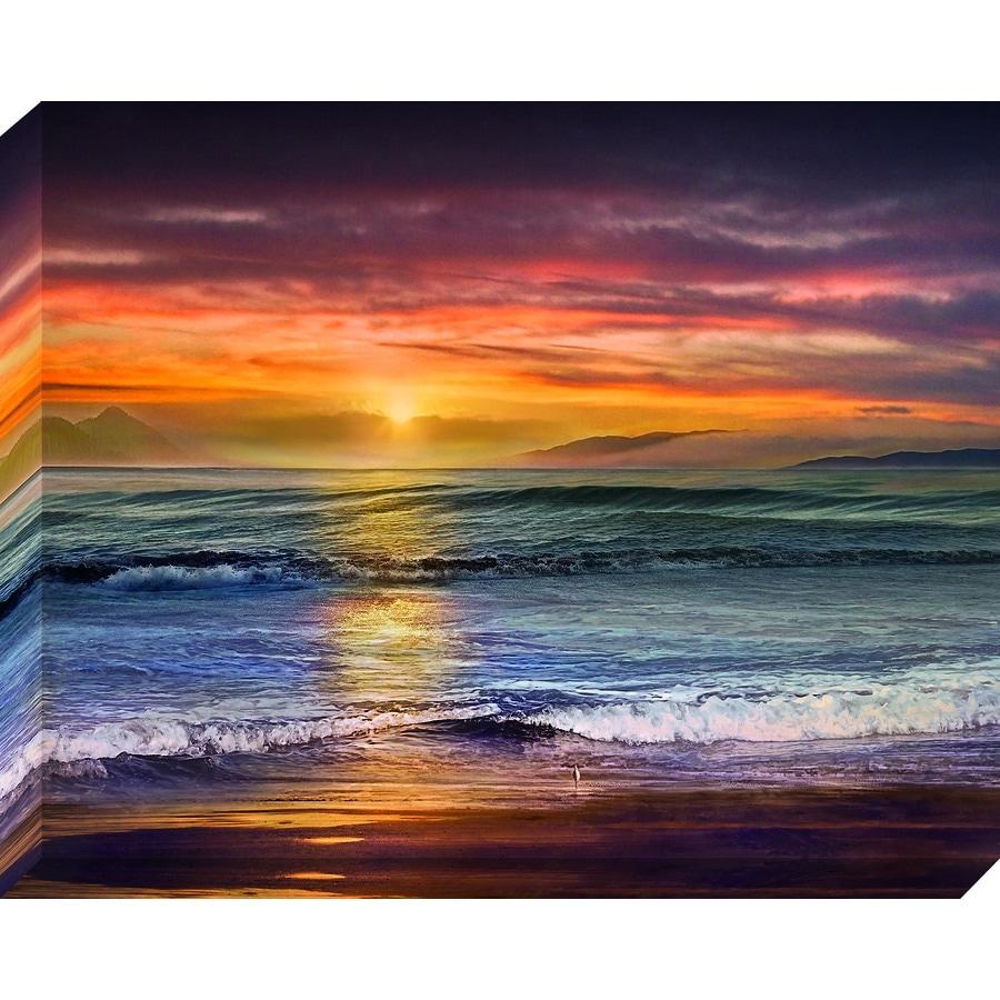 Coastal Print On Canvas