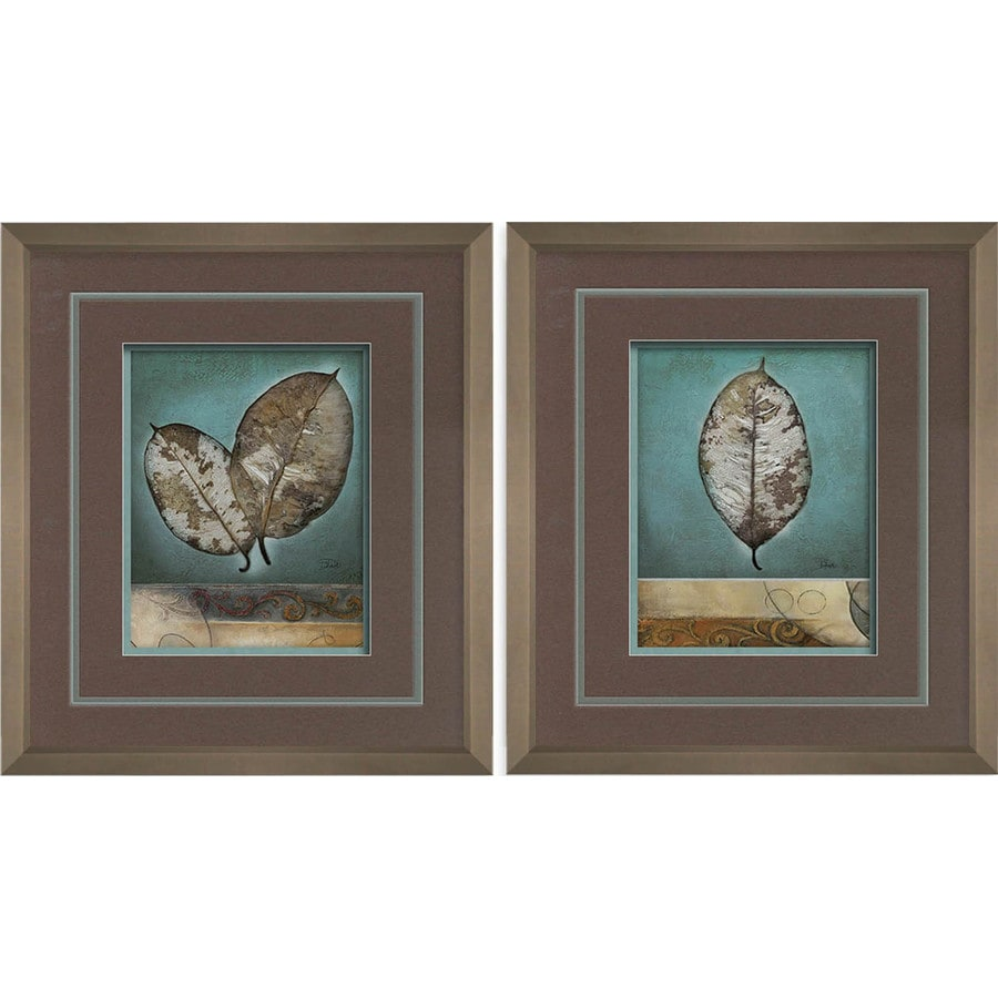 16-in W x 18-in H Global Framed Art