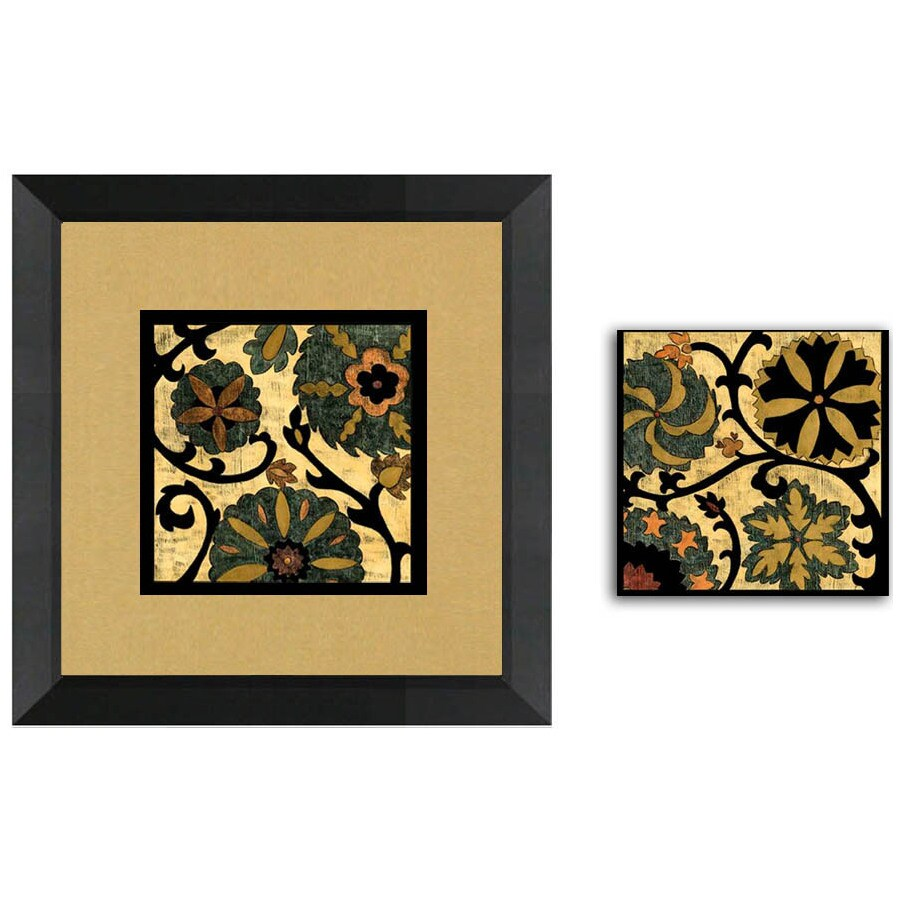 shop 12 in w x 12 in h contemporary framed art at lowes com