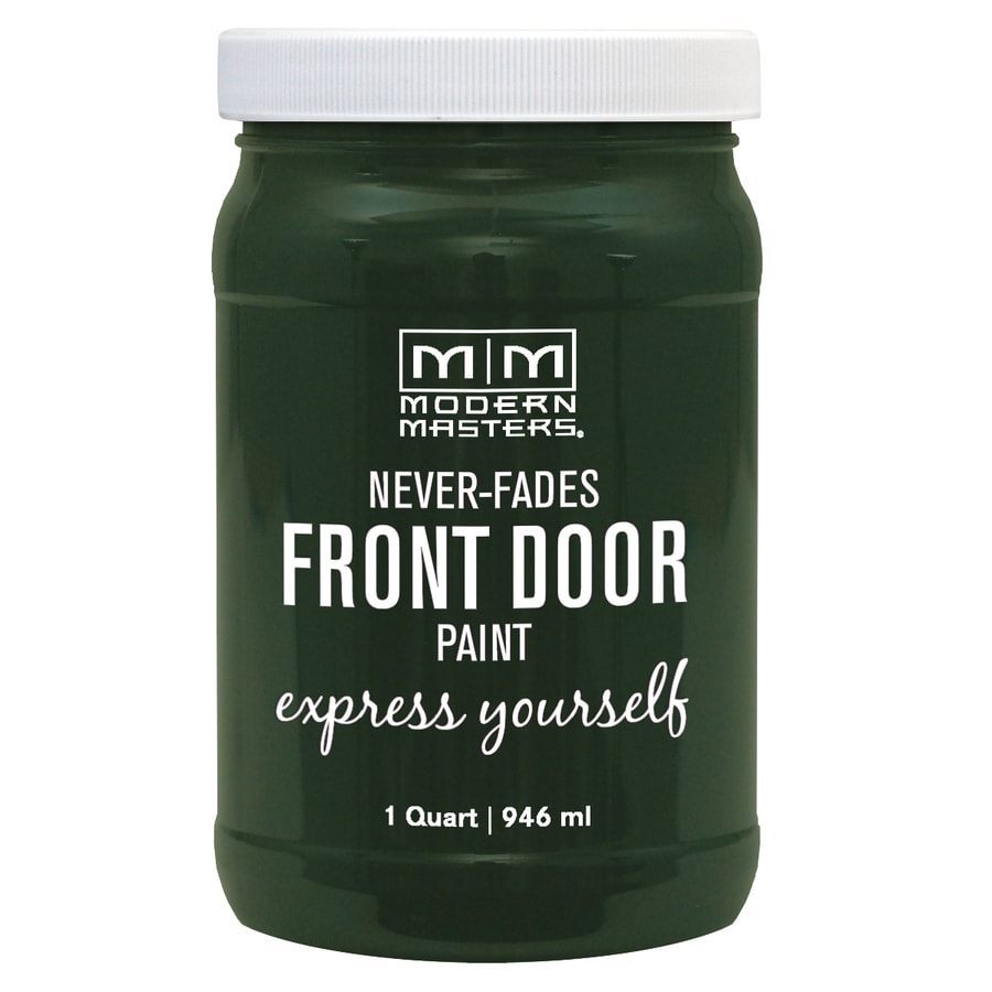 Modern Masters Front Door Paint Natural Satin Water-Based