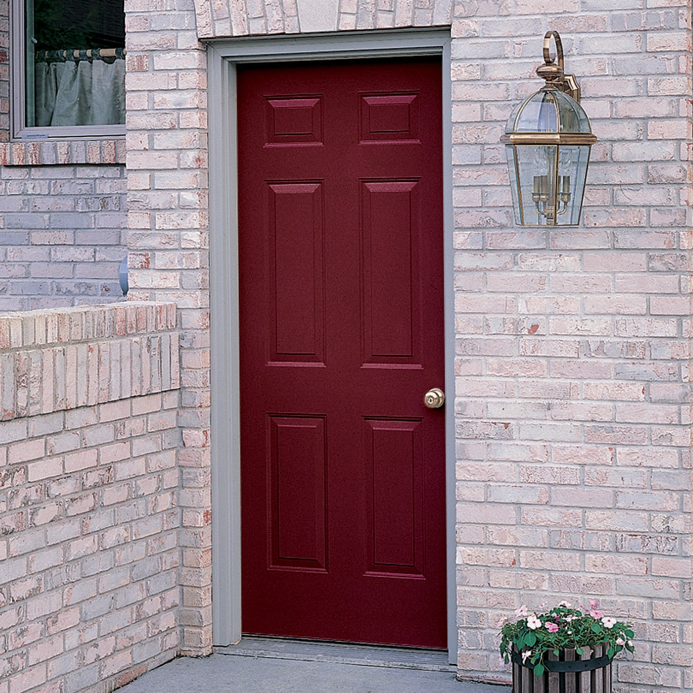 "ProSteel 36"" 6-Panel Steel Door with Right Hand Opening"