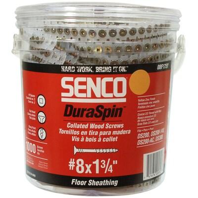 SENCO #8 x 1-3/4-in Flooring to Wood Screws at Lowes com