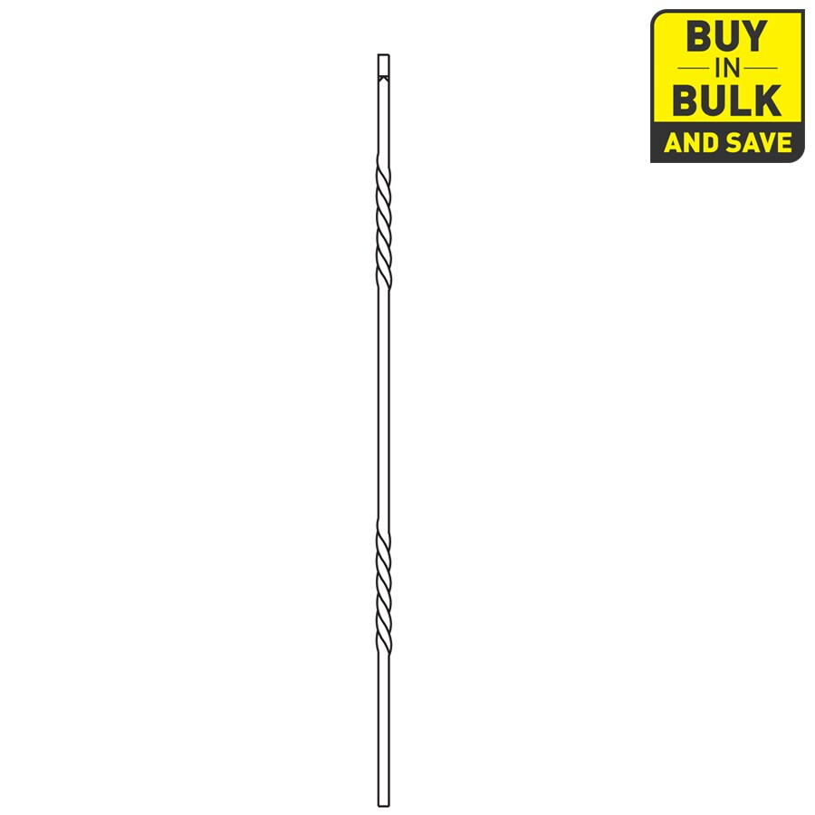 L.J. Smith Stair Systems 42-in Stair Baluster