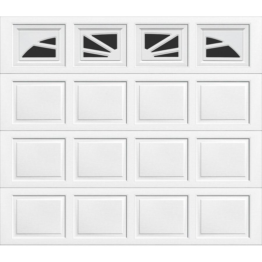 Wayne-Dalton 9100 Series 108-in x 84-in Insulated Single Garage Door with Windows