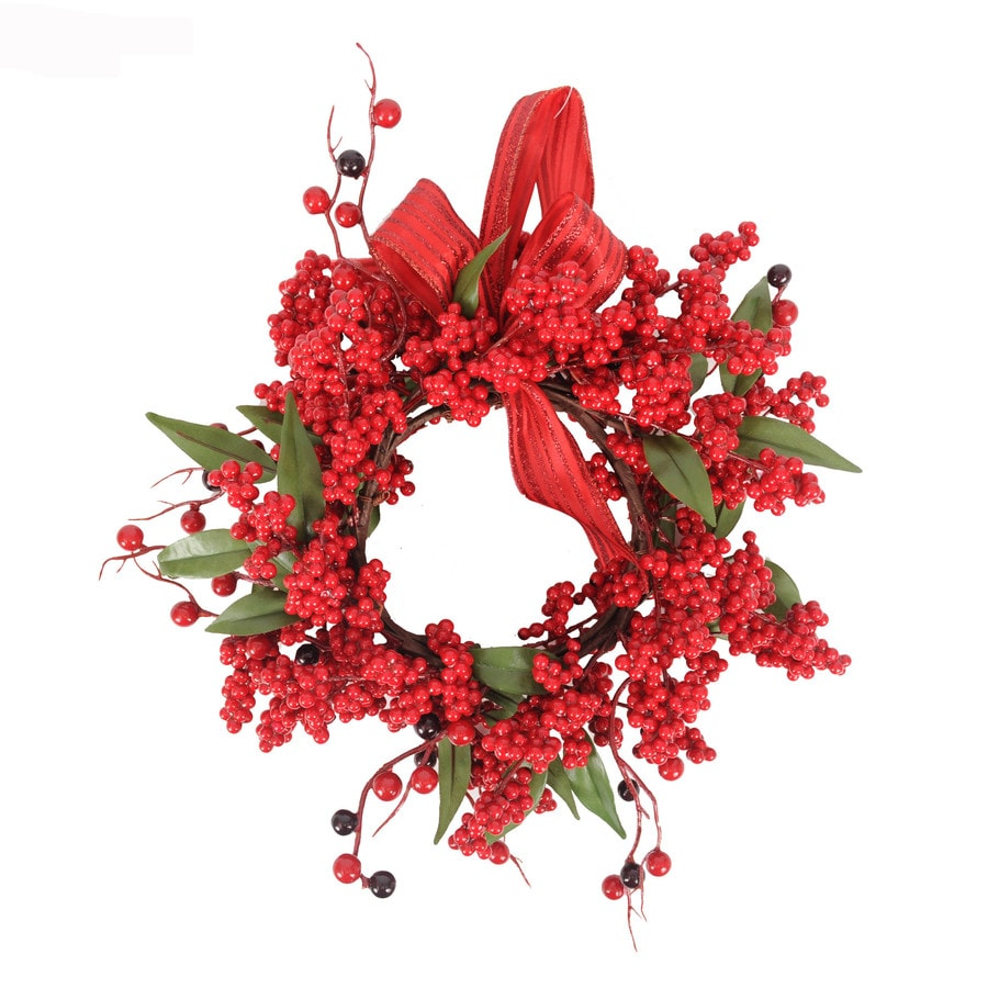 Holiday Living 10-in Red Berry Artificial Wreath