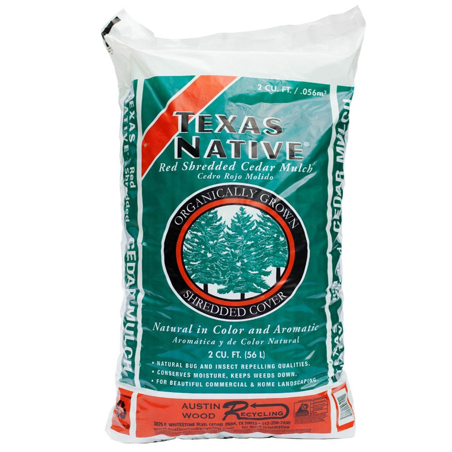 2 Cu Ft All Natural Medium Brown Mulch