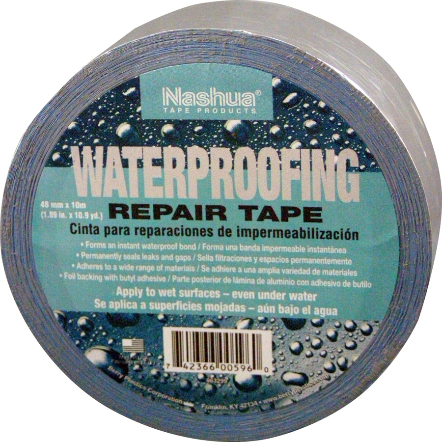 Shop Nashua 1.89-in x 32.7-ft Foil Waterproofing Repair Tape at ...