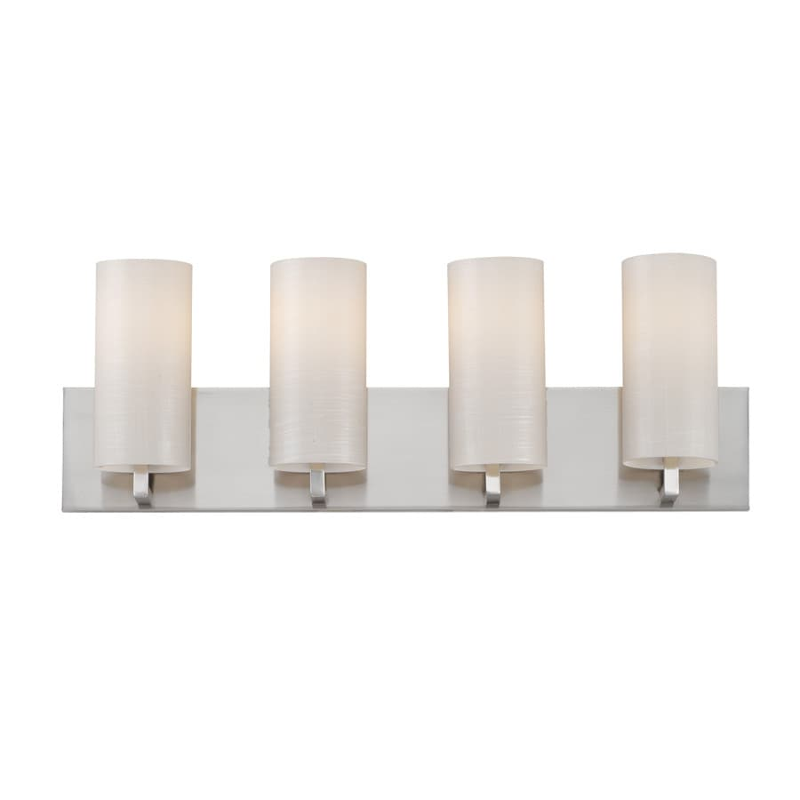 Philips Cambria 4-Light 8.25-in Satin nickel Vanity Light