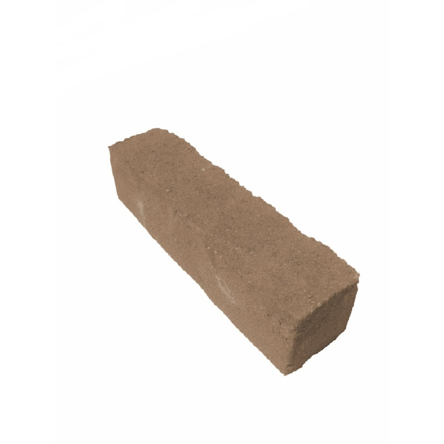 Mirador Tan Charcoal Straight Edging Stone (Common 12-in x 4-in; Actual: 12-in x 3.2-in)