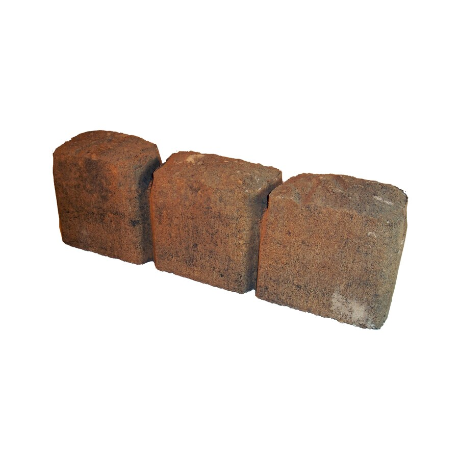 Cobble Ashland Straight Edging Stone (Common: 15-in x 3-in; Actual: 15.3-in x 3-in)