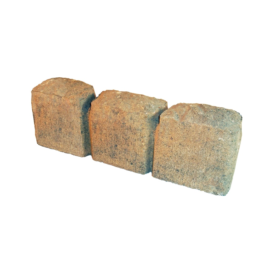 Cobble Chandler Straight Edging Stone (Common 15-in x 3-in; Actual: 15.3-in x 3-in)