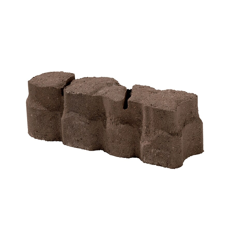 Alameda Blend Straight Edging Stone (Common: 12-in x 4-in; Actual: 12-in x 3.625-in)