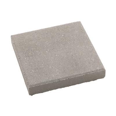 Square Gray Concrete Patio Stone (Common: 12-in x