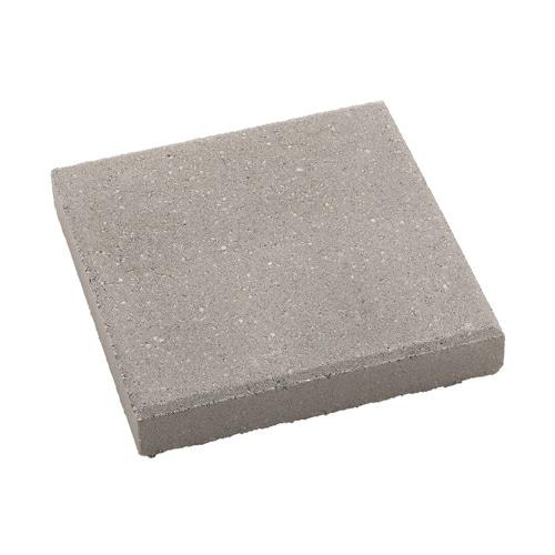 Square Gray Concrete Patio Stone Common 12 In X 12 In