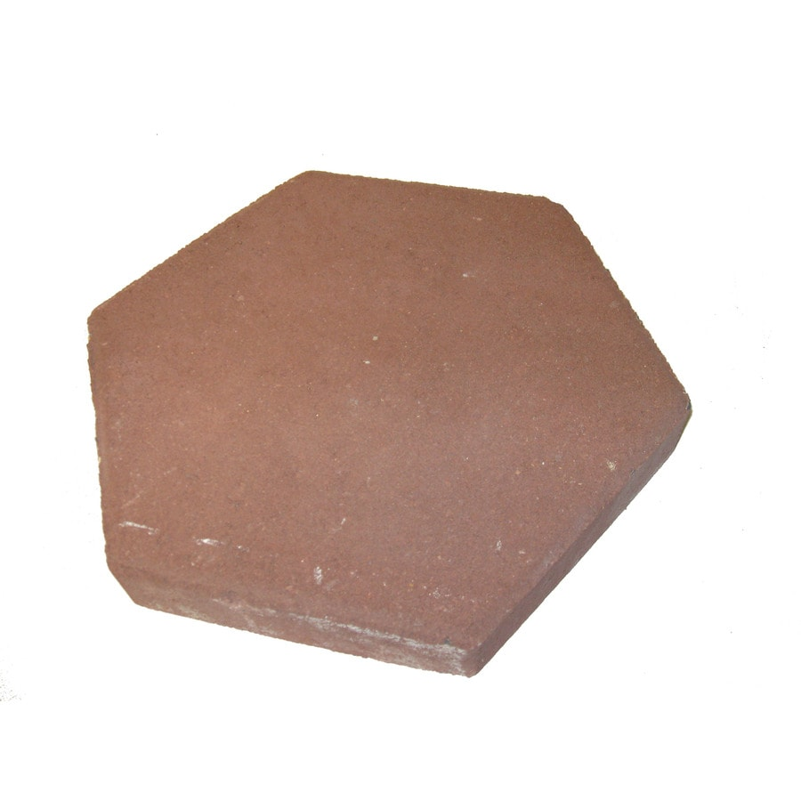 Red Patio Stone (Common: 12 In X 12 In; Actual:
