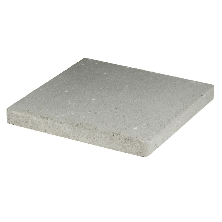 Square Gray Patio Stone Common 16 In X Actual